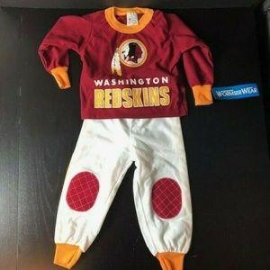 Vintage Washington Redskins 1980s Outfit Toddler